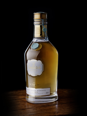Brian Kinsman, Glenfiddich malt master, says the 55-year-old whisky isn't the oldest the company has ever bottled. That title goes to a cask of 1937 Glenfiddich, bottled in 2001. But the Roberts Reserve is a close second.