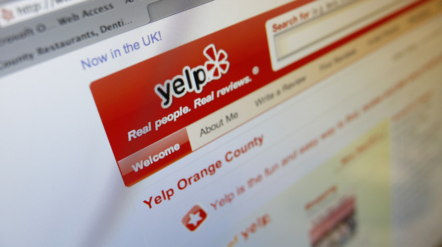 Customer review websites like Yelp have exploded in the last few years, but are negative reviewers at risk of inciting the litigious wrath of angry business owners? (AP)