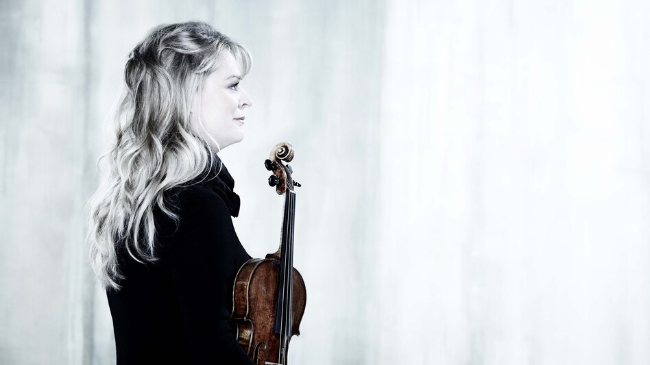 On her new album, Game Music, violinist Angèle Dubeau plays video game music with her string quartet, La Pieta. (Courtesy of the artist)