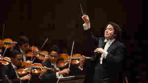 Gustavo Dudamel Leads The Simon Bolivar Symphony At Carnegie Hall