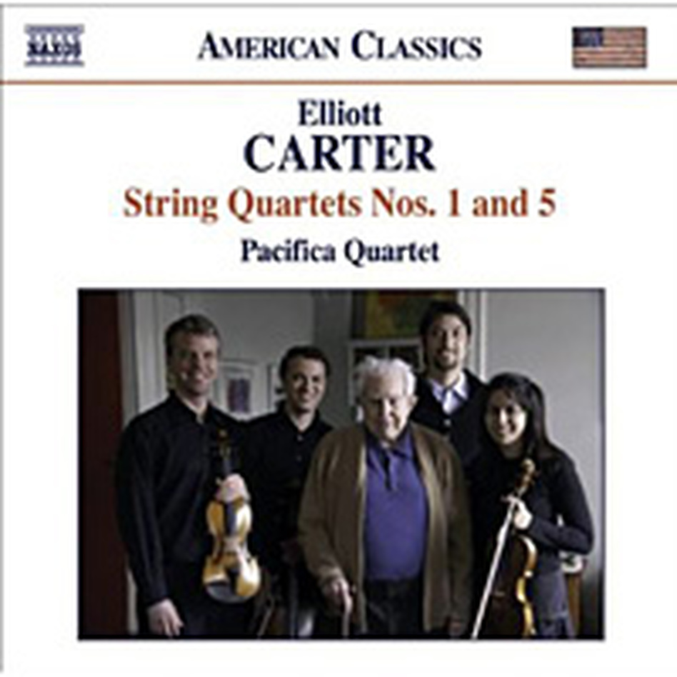 The Pacifica Quartet plays Elliott Carter.