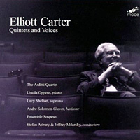 Mode records release of music by Elliott Carter.