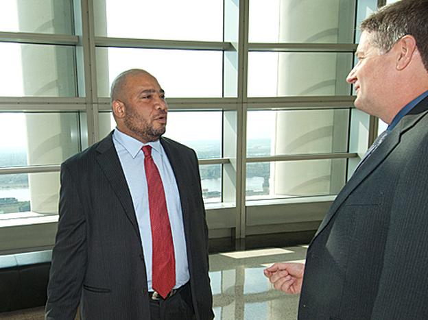 Porter was hired by Chief U.S. Probation Officer Douglas Burris, who was initially taken aback by the idea of an ex-felon working for the probation office.