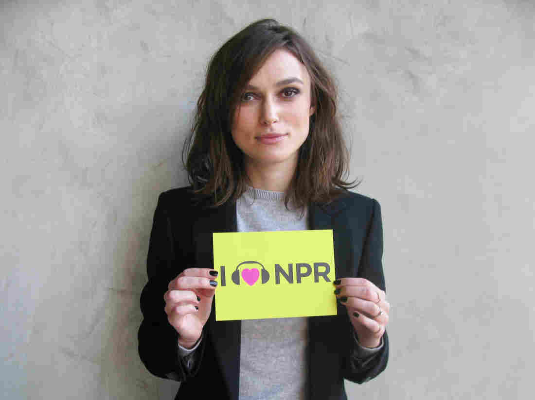 Keira Knightley at NPR West