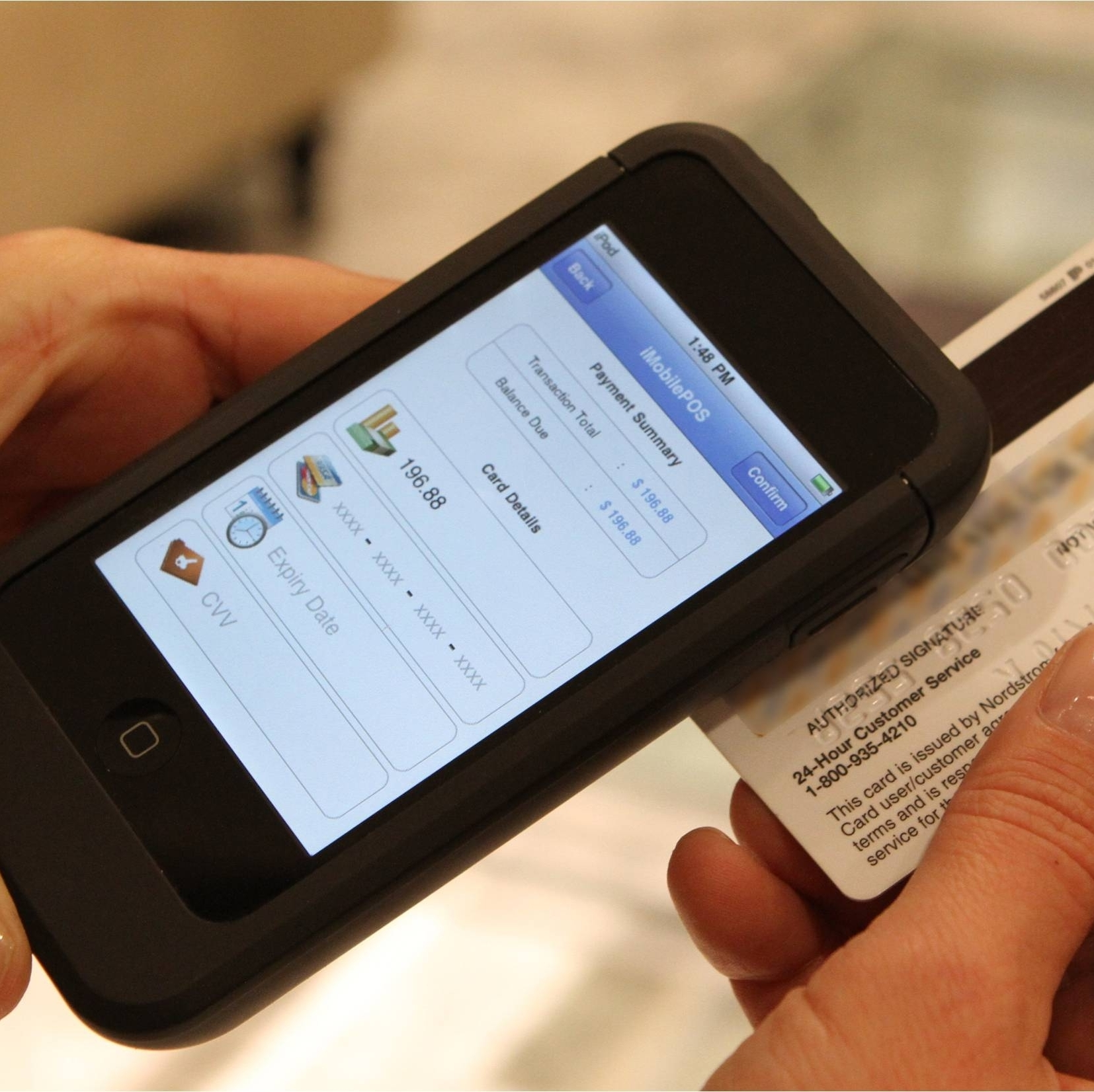 More stores are processing instant payments using mobile devices, enabling customers to bypass the checkout counter.