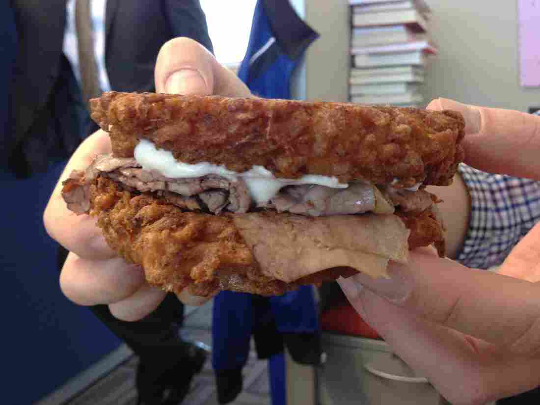 The Latke Double Down.
