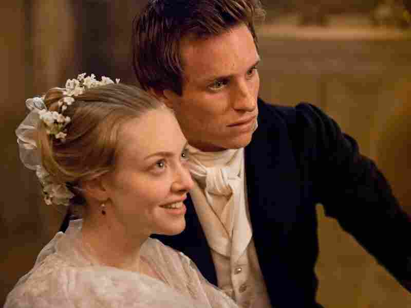 Cosette (Amanda Seyfried) and Marius (Eddie Redmayne) fall in love in a world shaken by revolution.