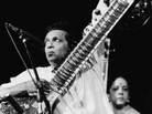 Musician Ravi Shankar performs at the Concert For Bangladesh benefit at Madison Square Garden in New York on Aug. 1, 1971. Shankar died Tuesday. He was 92.