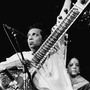 Musician Ravi Shankar performs at the Concert For Bangladesh