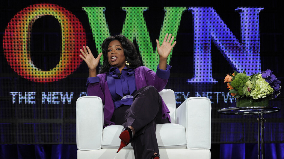Oprah Winfrey's revamped book club uses her magazine and OWN cable network as platforms. (AP)