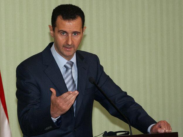 Syrian President Bashar Assad in 2009.