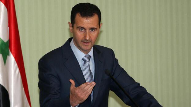 Syrian President Bashar Assad in 2009. (AFP/Getty Images)