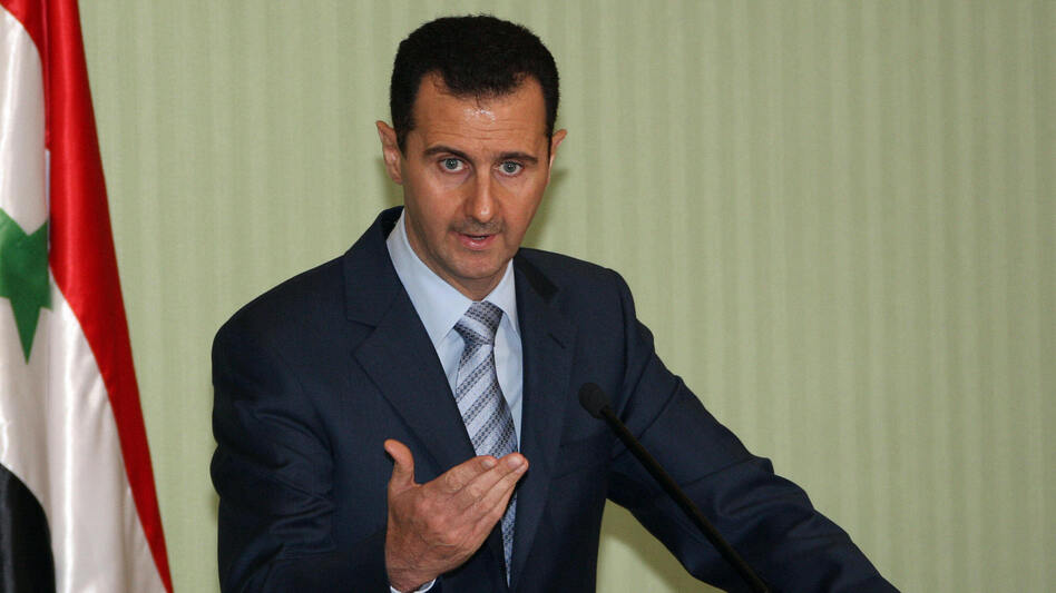 Syrian President Bashar Assad in 2009. (AFP/Getty Images)