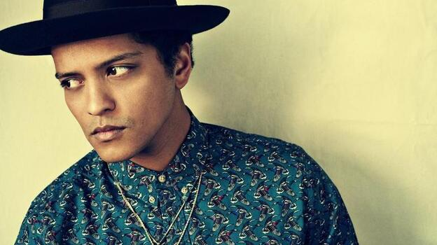 Bruno Mars draws inspiration from across the pop landscape on his second album, Unorthodox Jukebox. (Courtesy of the artist)