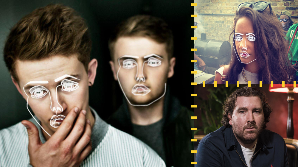 British bass duo Disclosure, vocalist Ria Ritchie and remixer Joe Goddard
