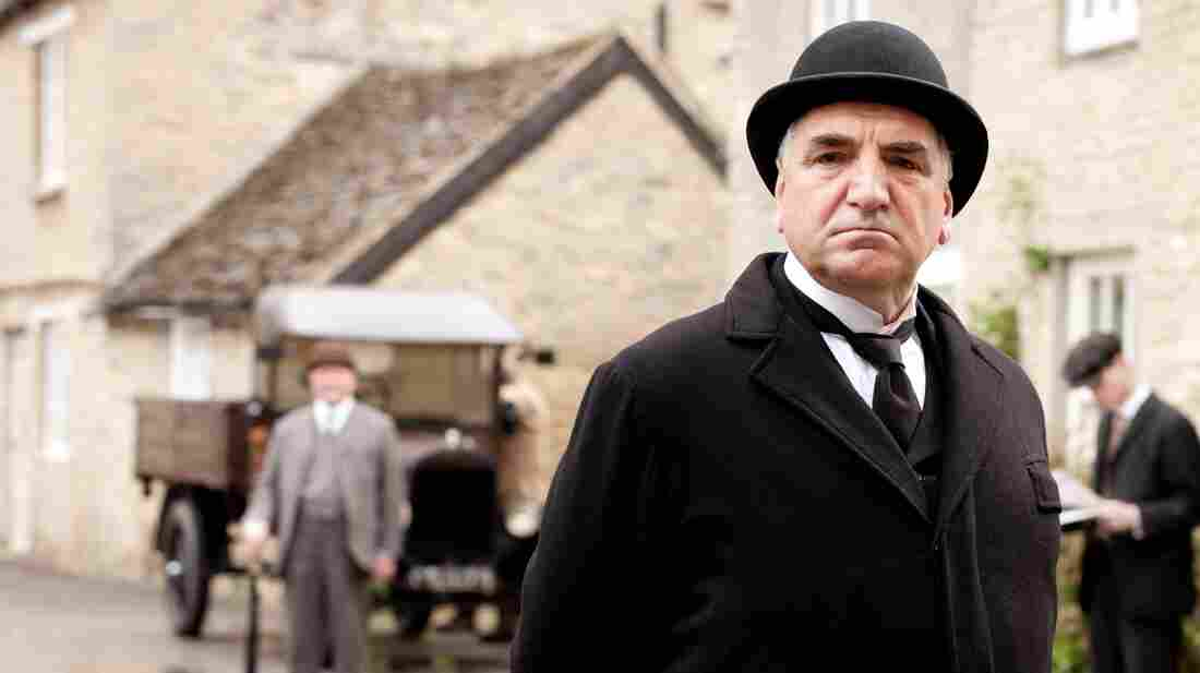 Jim Carter as Mr. Carson in Downton Abbey. The third season premiered on PBS Sunday.