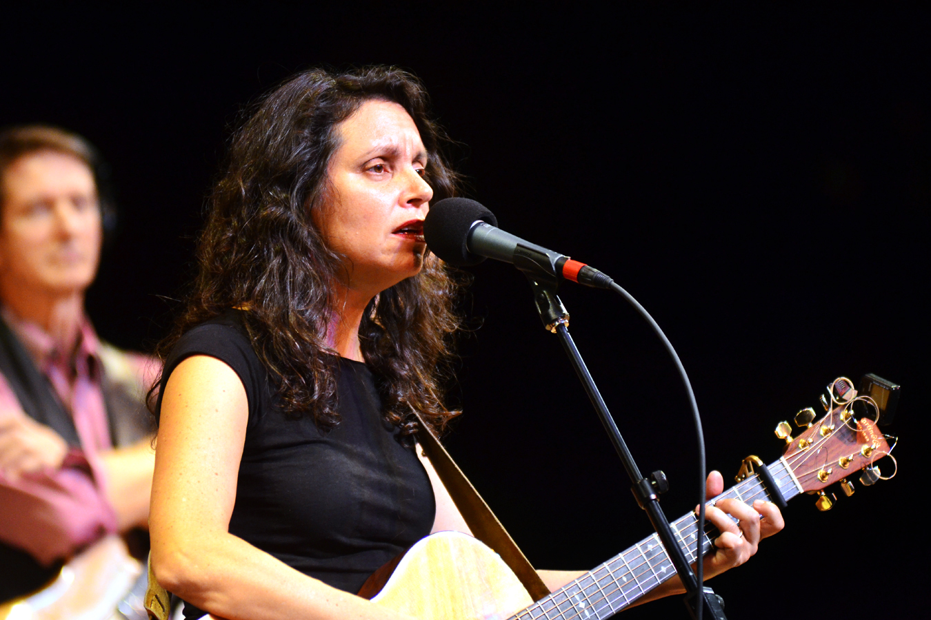 Lucy Kaplansky plays songs from her latest album, Reunion.