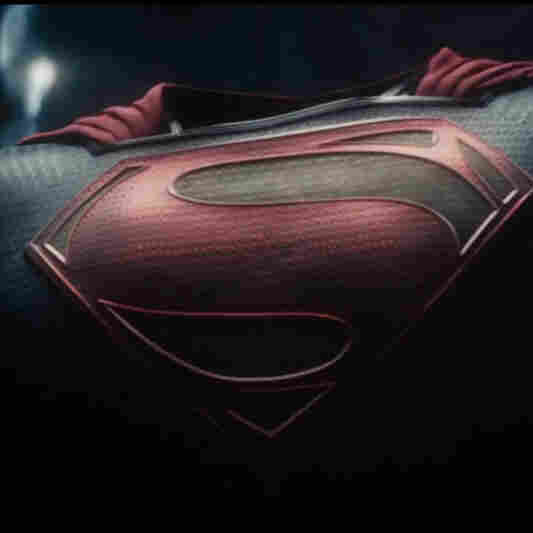 A screenshot from the trailer for Zack Snyder's 2013 film, Man Of Steel.