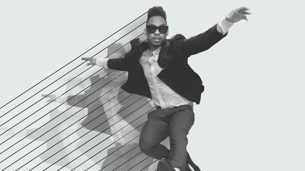 Miguel's killer 2012 began with the release of three free Art Dealer Chic mixtapes. His second full-length album, Kaleidoscope Dream, followed in  September. (Courtesy of the artist)