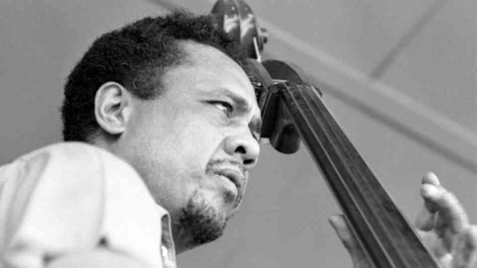 Jazz great Charles Mingus performs at the Monterey Jazz Festival in September 1964.
