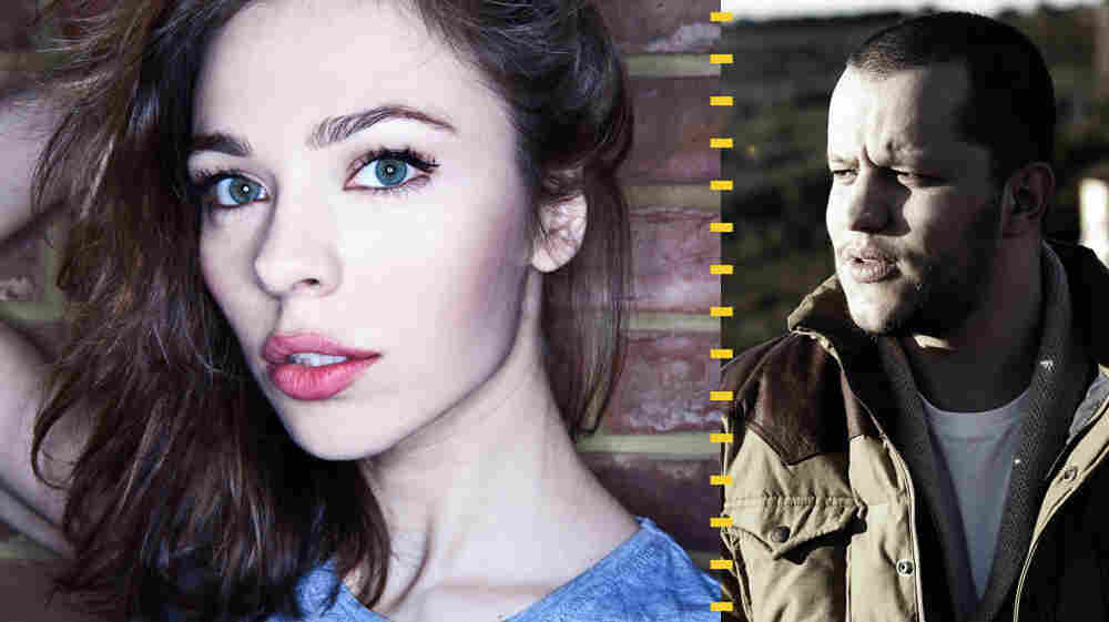 Russian producer Nina Kraviz and Parisian remixer Amine Edge