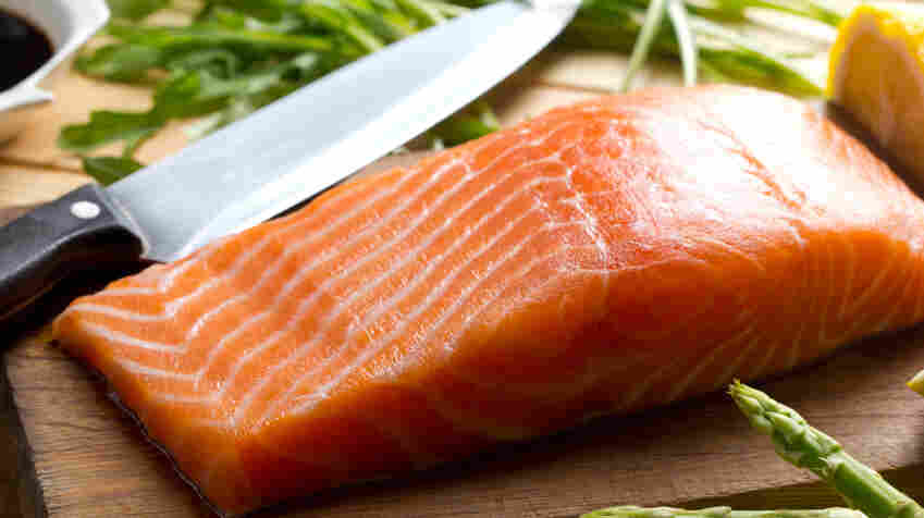 "Farmed Atlantic salmon was sometimes labeled at ""wild salmon,"" researchers found when the tested seafood sold in New York City."