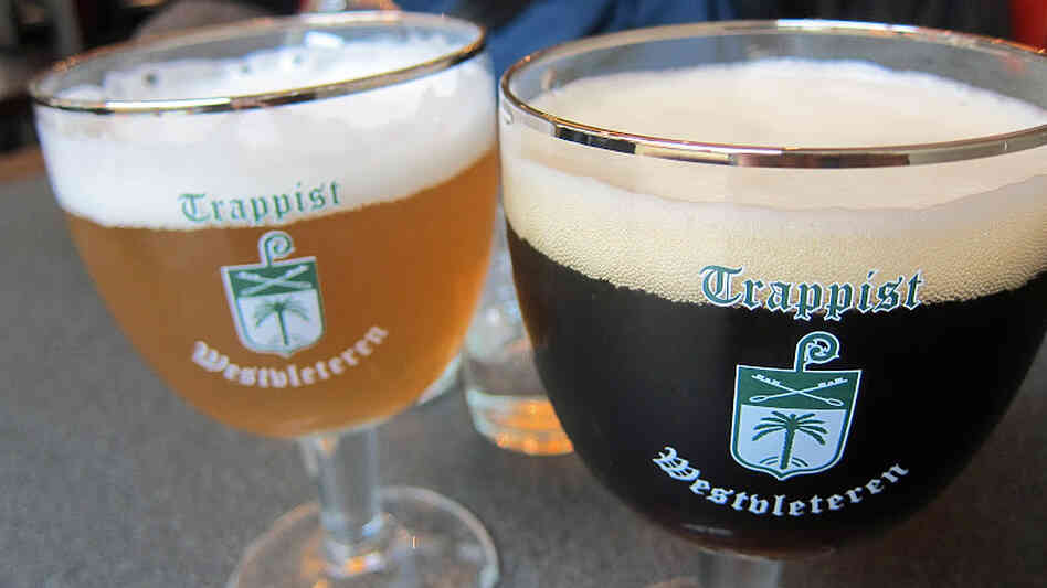 Beers made by Trappist monks at St. Sixtus Abbey's Westvleteren Brewery in Belgium are sought by connoisseurs. For the first time, the monk