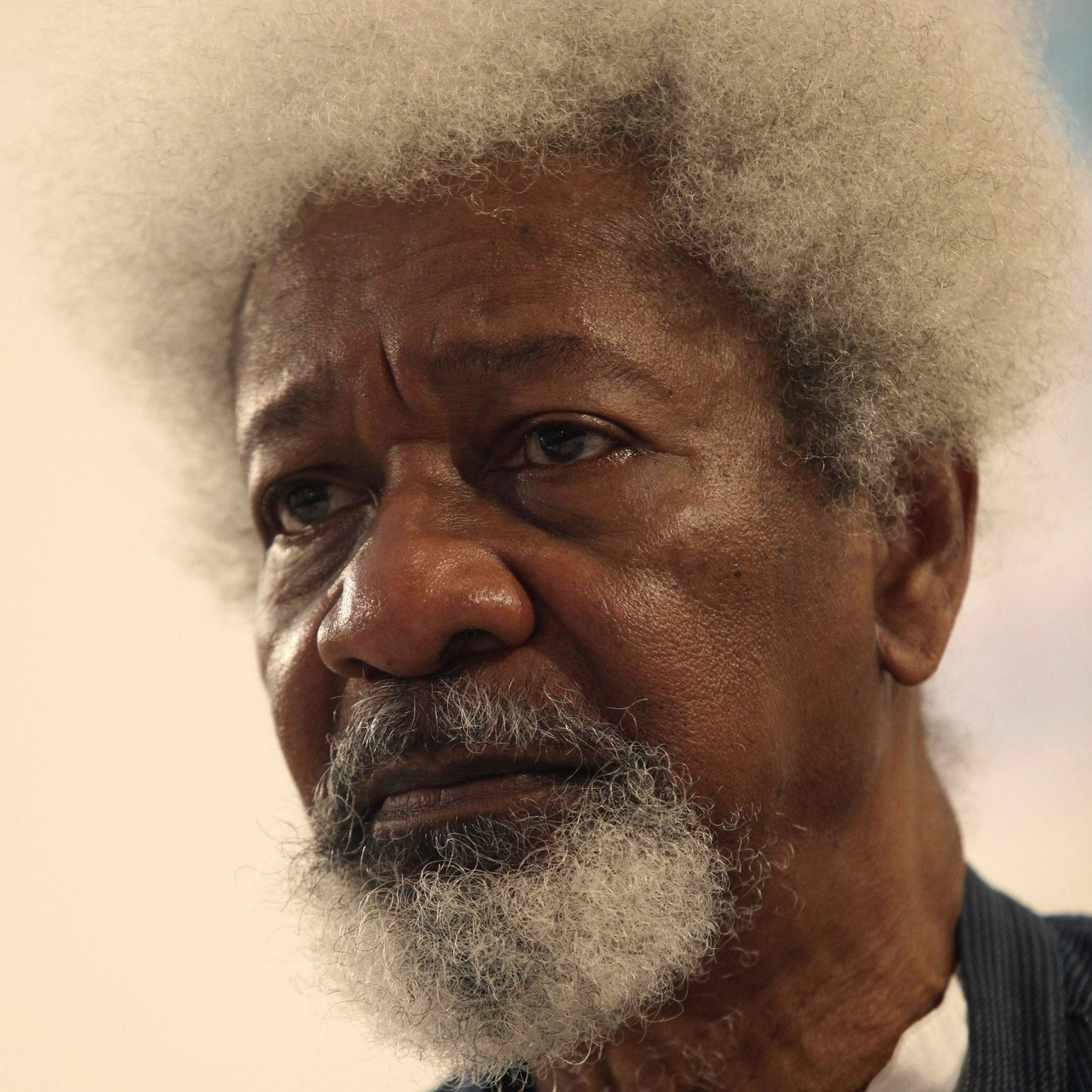 Nobel laureate Wole Soyinka in Lagos, Nigeria, in 2010.