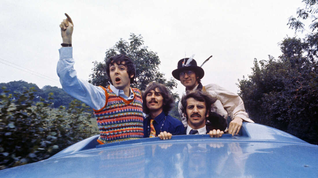 Behind The Scenes Of The Beatles' 'Magical Mystery Tour' : NPR