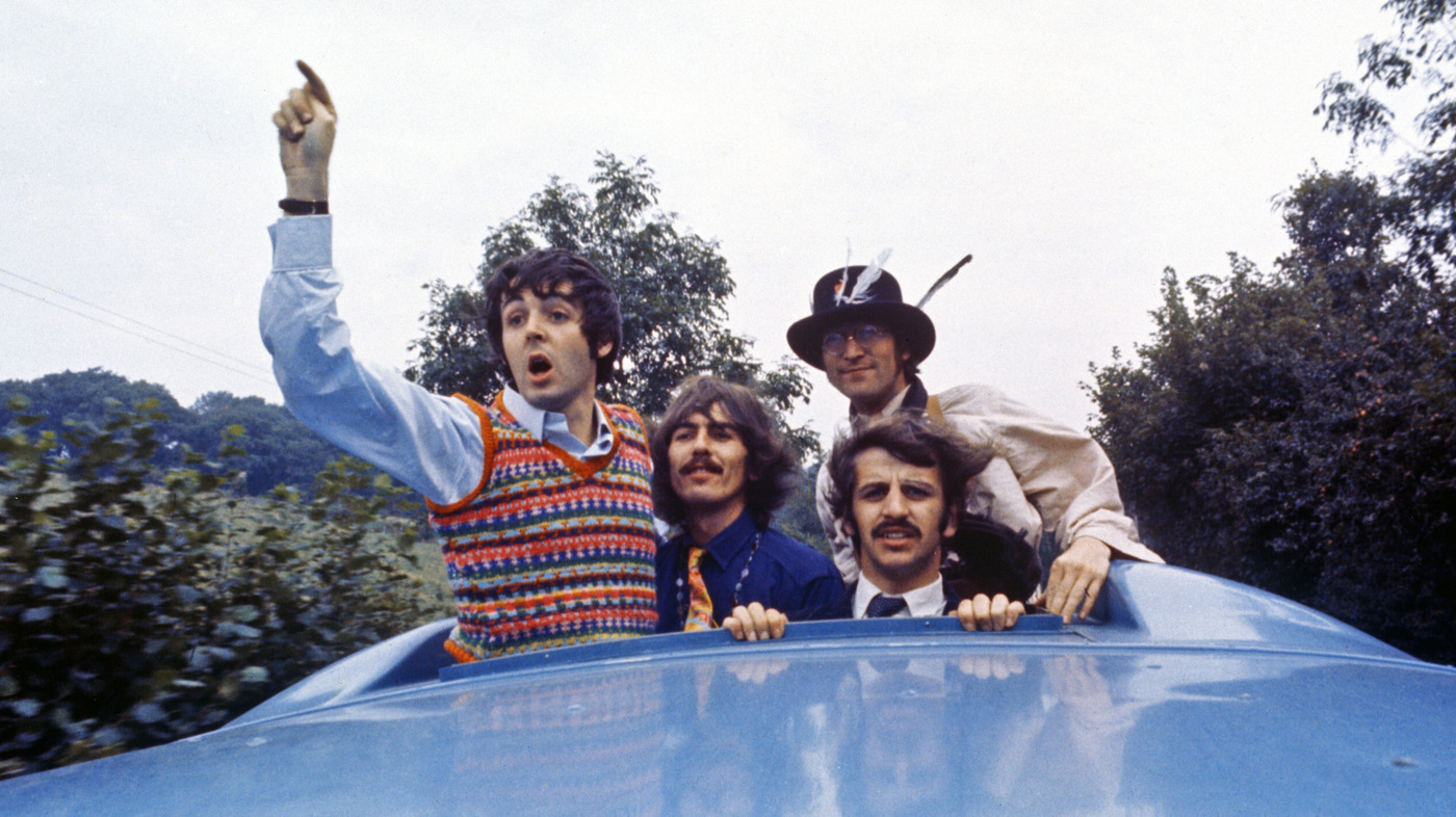 Photograph Movie Pinterest: Behind The Scenes Of The Beatles' 'Magical Mystery Tour' : NPR