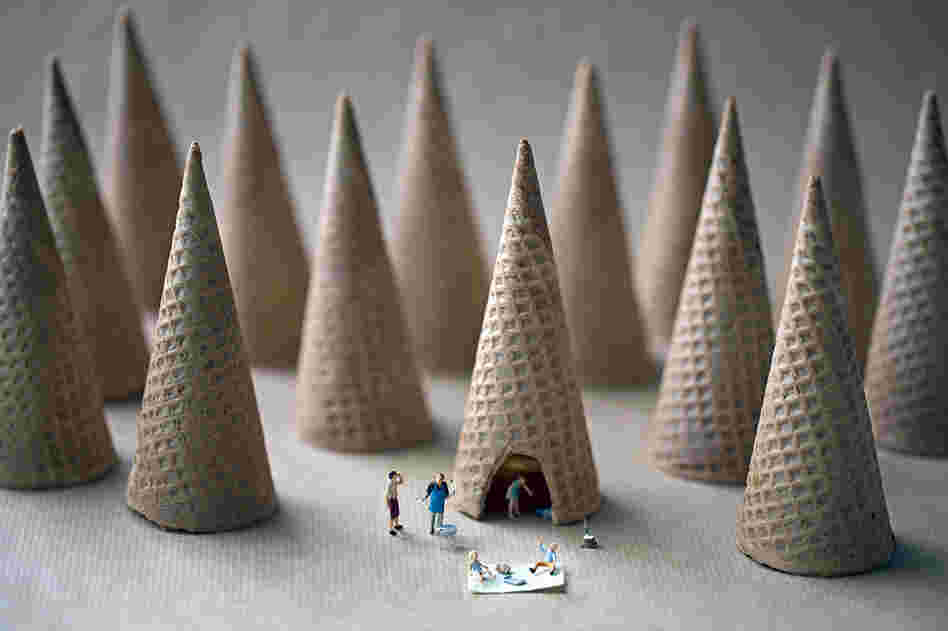 """When I was young the cones were so big you could drive a car through them."""