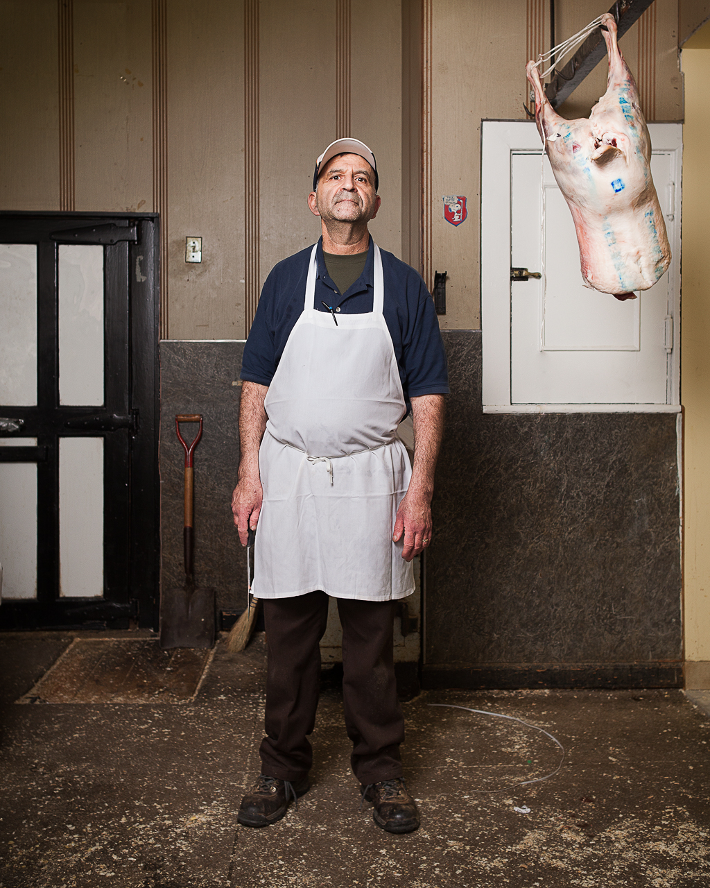 Stevie, butcher at Truglio's Meat Market