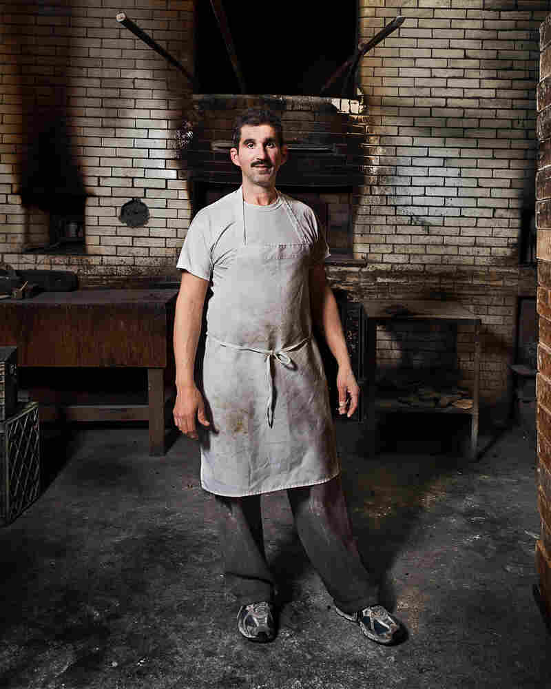 Ivan, a baker at Antique Bakery, claims that their oven hasn't been turned off for more than 100 years, according to Delaney.