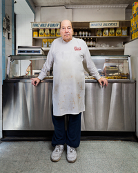 John, owner of Fiore's Deli, which claims to have the best