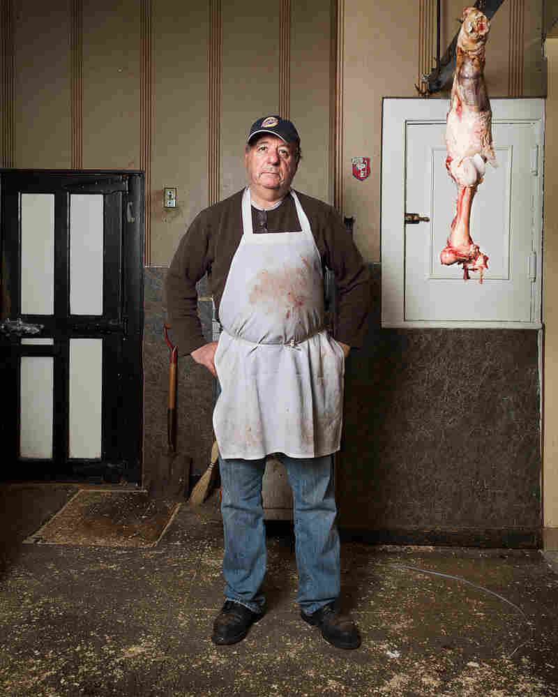 Jimmy, butcher at Truglio's Meat Market