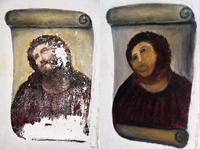 Cecilia Gímenez's handiwork: the Ecce Homo (