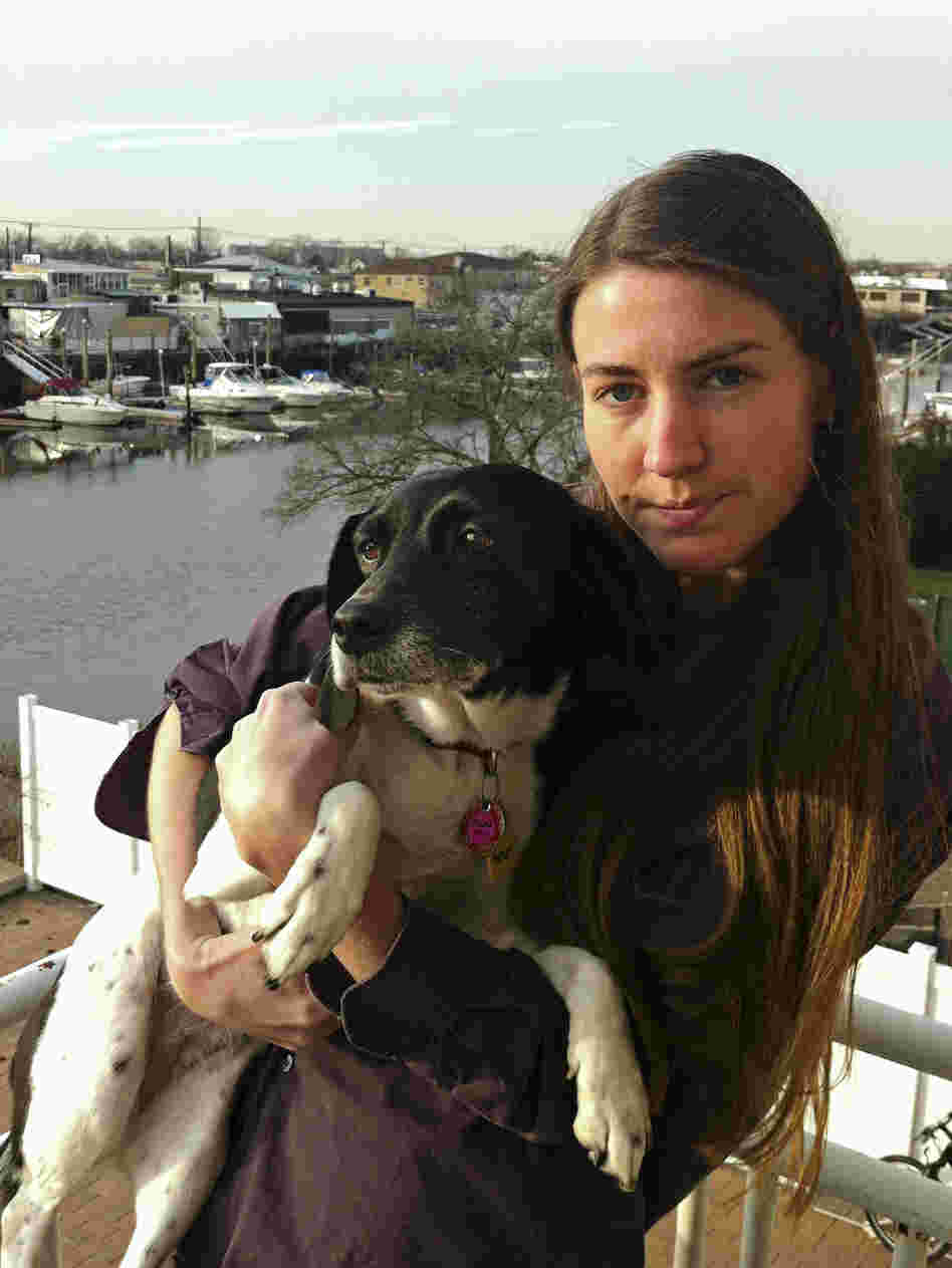 Erin Kulick can see the animal clinic where she once worked from her balcony in Queens, N.Y. Six weeks after Hurricane Sandy, the clinic is still closed.