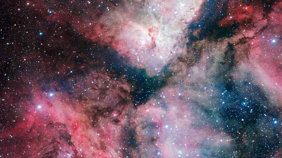 Enjoy it while you can: the spectacular star-forming Carina Nebula has been captured in great detail by the VLT Survey Telescope at the ESO's Paranal Observatory.
