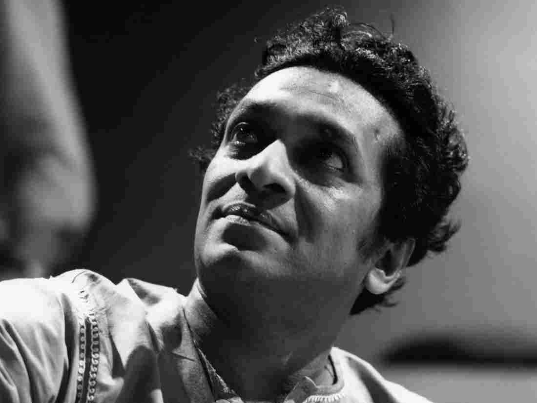 Ravi Shankar circa 1960 in the U.K.