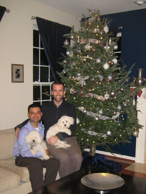 Eric James and his partner, Zerxes Spencer, have spent the past year looking to adopt.