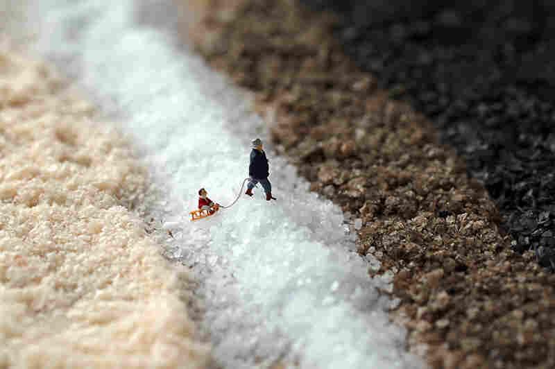 Salt Sledding