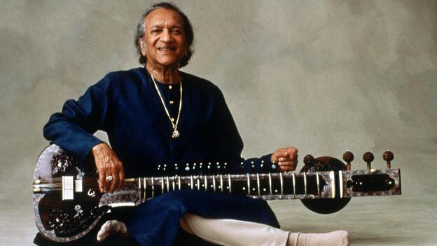 The late sitarist, composer and musical ambassador Ravi Shankar, who died Tuesday at age 92. (courtesy of EMI Classics)