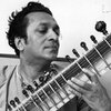 Ravi Shankar playing the sitar in May 1966.