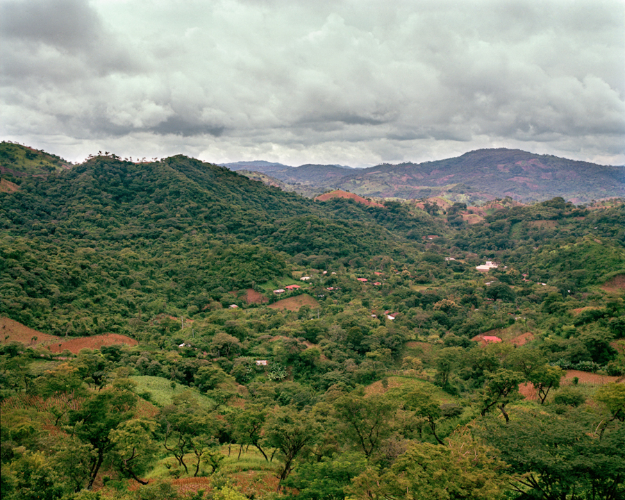 The towns of Santa Marta and Valle Nuevo in Cabanas, El Salvador. After almost 10 years in the Mesa Grande refugee camp in Honduras, people began repatriating on Oct. 10, 1987. More than 4,000 men, women and children returned to El Salvador, in what is said to be one of the largest repatriations in the history of Latin America.