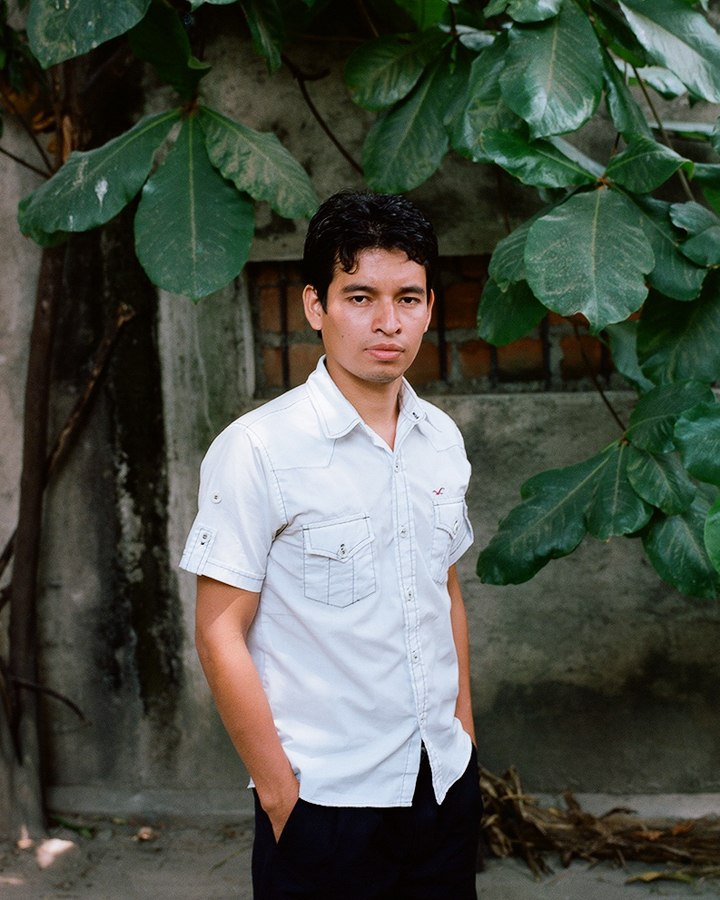 Manuel, a law student at the National University.