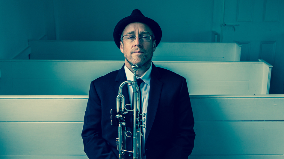 Dave Douglas' new album, Be Still, includes hymns he played at his mother's funeral service. (Courtesy of the artist)