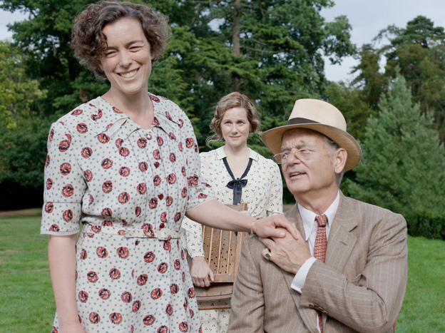 Linney's Daisy was on hand, along with Eleanor Roosevelt (Olivia Williams), to support the president on the weekend of a momentous visit by the king and queen of England in June of 1939, as Europe teetered on the brink of World War II. (Focus Features)