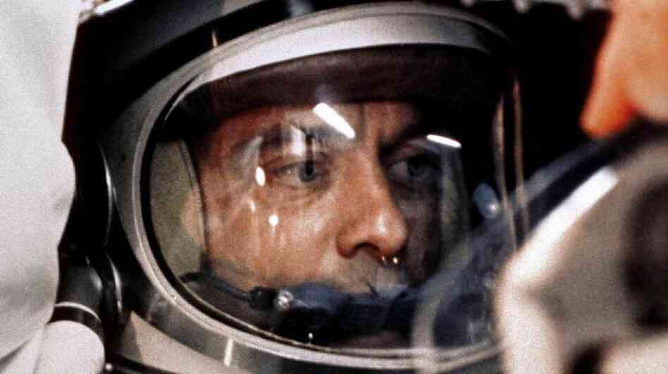 Astronaut Alan Shepard became the first American in space in 1961. He later developed an inner ear problem that grounded him from space flight until an operation cured him.