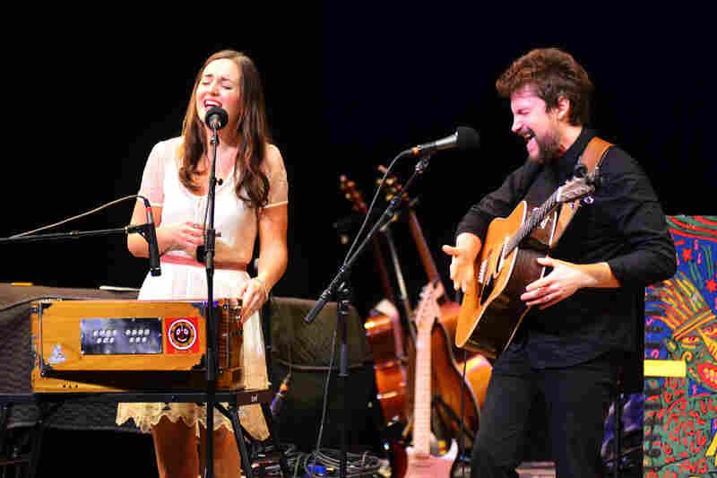 Barnaby Bright plays rustic, ornate indie-folk.