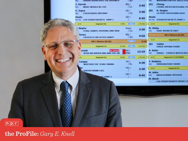 NPR CEO Gary E. Knell.